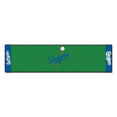 MLB Los Angeles Dodgers Ball 1.5'x6' Putting Mat - Green