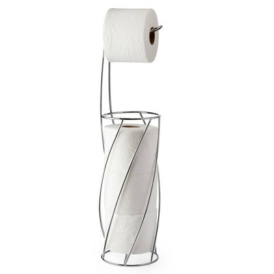 Twist Toilet Caddy Chrome - Better Living Products
