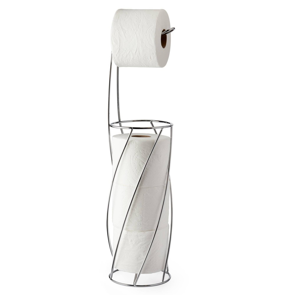 Image of Twist Toilet Caddy Chrome - Better Living Products