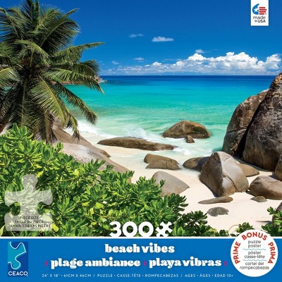 Ceaco Palm Trees Jigsaw Puzzle - 300pc