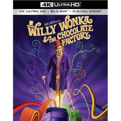 Willy Wonka and the Chocolate Factory (4K/UHD + Blu-ray + Digital)