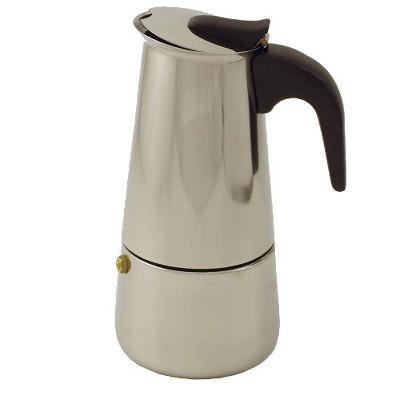 BigKitchen 6 Cup Stainless Steel Mocha Espresso Maker