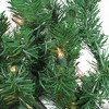 """Northlight 28"""" Prelit Deluxe Windsor Pine Artificial Christmas Swag - Clear Lights - image 2 of 3"""