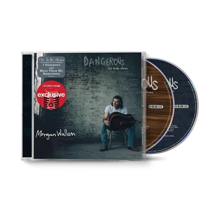 Morgan Wallen - Dangerous: The Double Album (Target Exclusive, CD) : Target