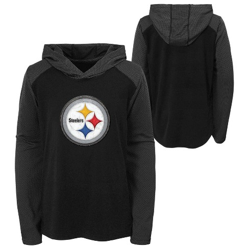 promo code fde46 db9ff NFL Pittsburgh Steelers Boys' Sprint Out Lightweight Hoodie