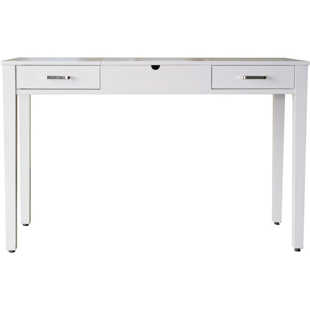 Ainsley Vanity Desk White - Haven Home