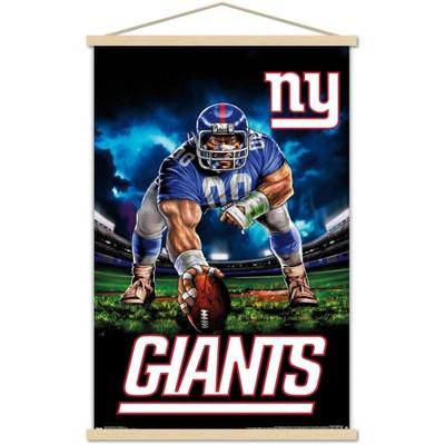 Trends International NFL New York Giants - 3 Point Stance 19 Framed Wall Poster Prints