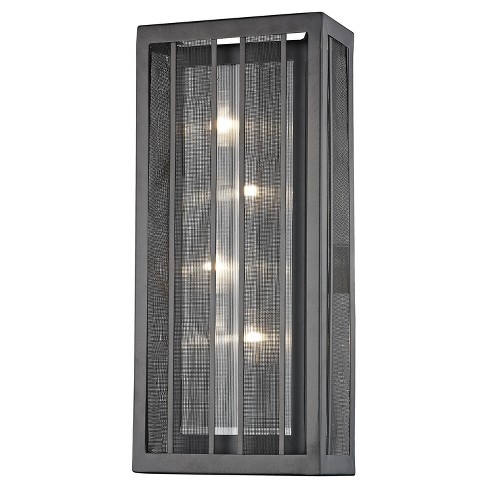 "Z - Lite Meridional Wall Sconce (""18'') Dark Gray/Bronze - image 1 of 1"
