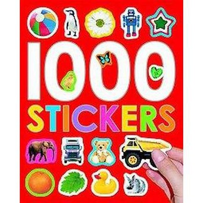 1000 Stickers (Paperback) - by Roger Priddy