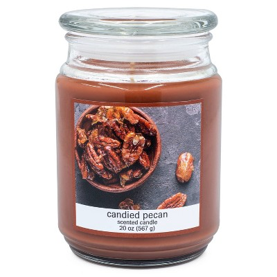 20oz Glass Jar Candied Pecan Candle