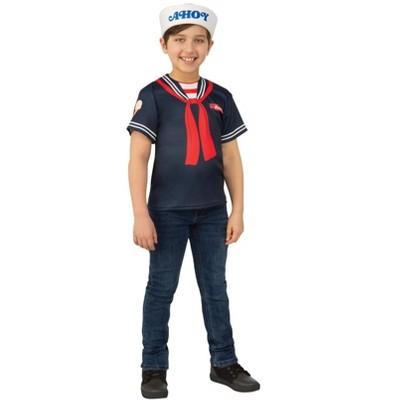 Rubie's Boys' Stranger Things Steve Scoops Ahoy Halloween Costume