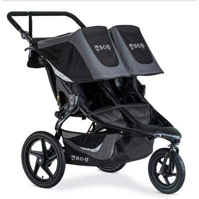 BOB Gear Revolution Flex 3.0 Duallie Jogging Stroller - Graphite Black