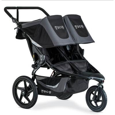 BOB Gear Flex Duallie Stroller - Graphite Black