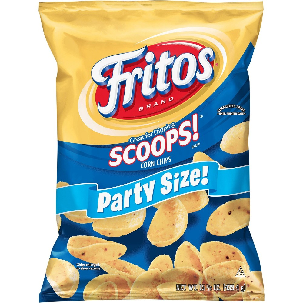 Fritos Scoops Corn Chips 15 50oz