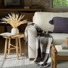 Outdoor Fall Tartan Plaid Fringe Throw Blanket - Hearth & Hand™ with Magnolia - image 4 of 4