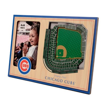 "MLB Chicago Cubs Stadium View Photo Frame - 4"" x 6"""