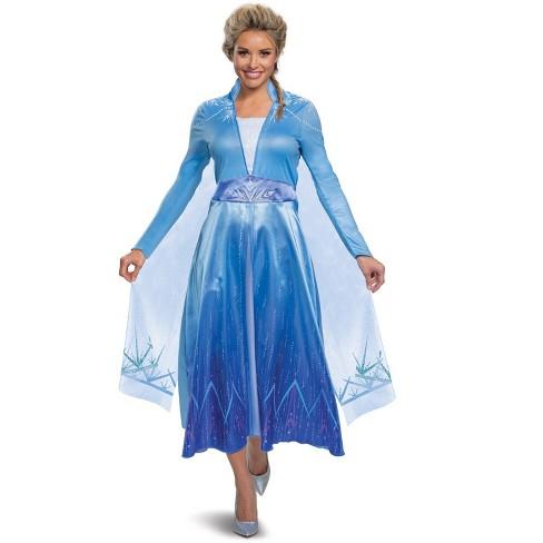 Frozen Frozen 2 Elsa Deluxe Adult Costume - image 1 of 1