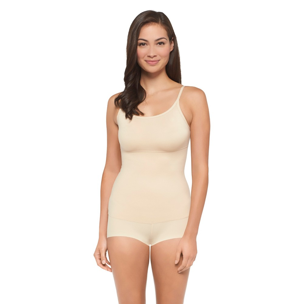 Image of Maidenform Self Expressions Women's Suddenly Skinny Romper - 51007, Women's, Size: Large, Latte Lift