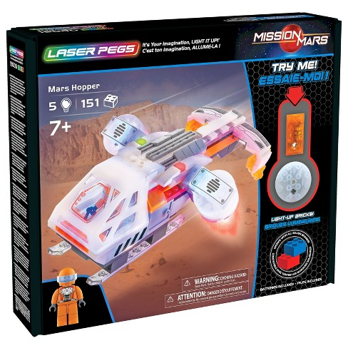 Laser Pegs Mars Hopper Toy Vehicle Playset - 154pc - image 1 of 4