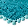 "Woven Bath Mat (20""x34"") Blue Ocean - Pillowfort™ - image 2 of 2"