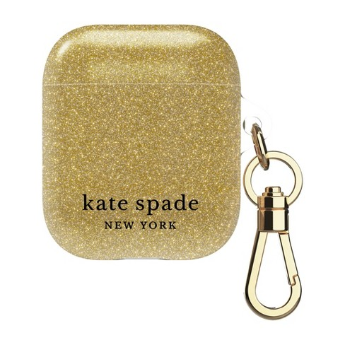 Kate Spade New York AirPods Case - Gold Glitter - image 1 of 4