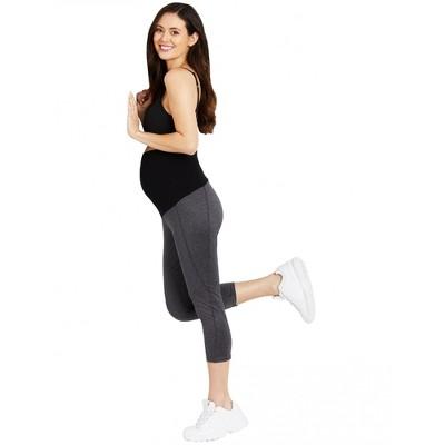 Motherhood Maternity | Secret Fit Belly Cool Performance Cropped Maternity Leggings
