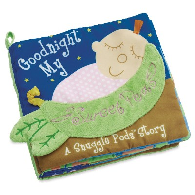 The Manhattan Toy Company Snuggle Pods Goodnight My Sweet Pea Book
