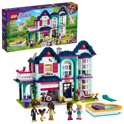 LEGO Friends Andrea's Family House Building Kit 41449
