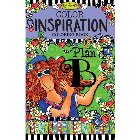 Color Inspiration Coloring Book - (On-The-Go Coloring Book) by  Suzy Toronto (Paperback) - image 1 of 1