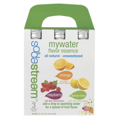 SodaStream MyWater Flavor Essence Variety 3-Pack