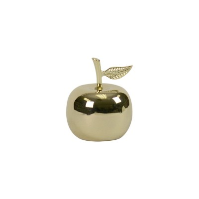 Apple Decorative Figure Paper Weight Gold - Threshold™