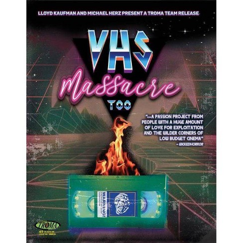 VHS Massacre Too (Blu-ray)(2022) - image 1 of 1