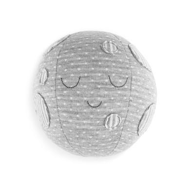 DEMDACO Moon & Back Moon Rattle