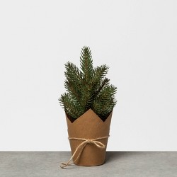Faux Pine Tree with Craft Paper - Hearth & Hand™ with