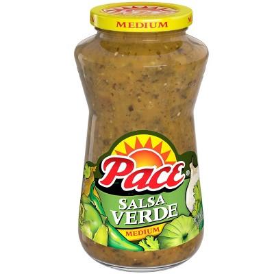 Pace Restaurant Style Garlic & Lime Verde Salsa 16oz