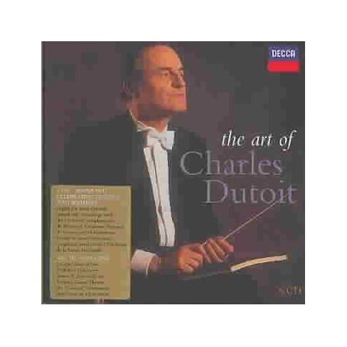 Dutoit - Art of Charles Dutoit (Bonus DVD) (CD) - image 1 of 1