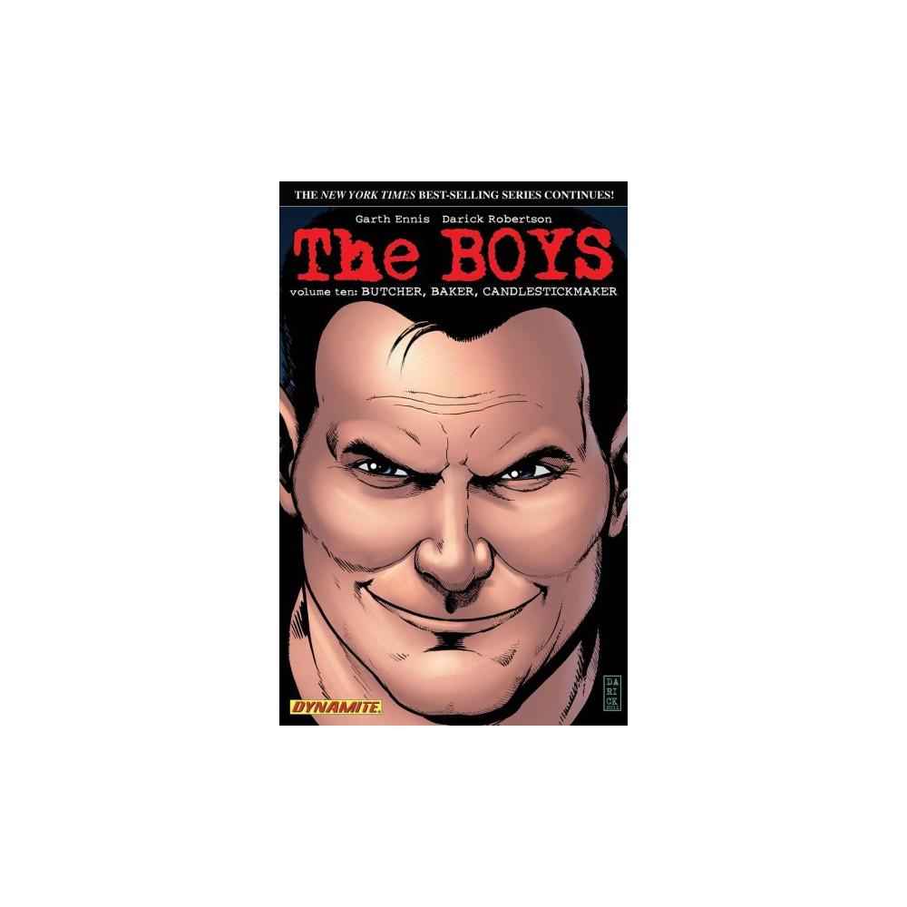 Boys 10 : Butcher, Baker, Candlestickmaker - Signed (Boys) by Garth Ennis (Paperback)