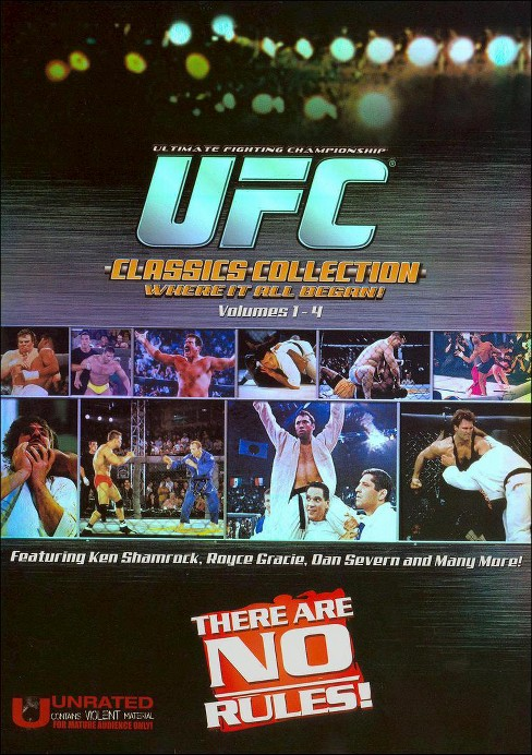 Ufc classics collection boxset (DVD) - image 1 of 1