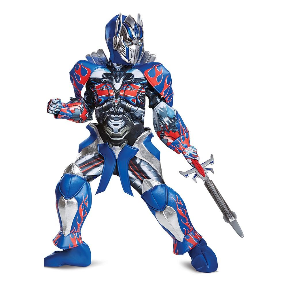Kids' Optimus Prime Prestige Halloween Costume M, Boy's, Multicolored