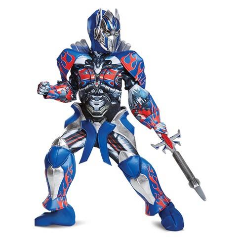 Kids' Optimus Prime Prestige Halloween Costume - image 1 of 1