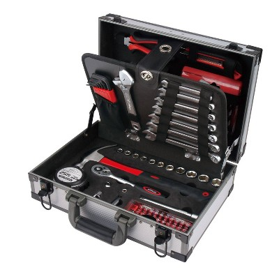 Apollo Tools 96pc DT4935 Deluxe General Tool Kit in Aluminum Case