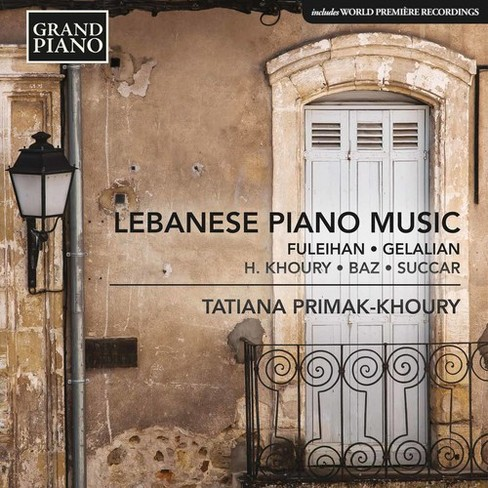 Tatia Primak-khoury - Lebanese Piano Music (CD) - image 1 of 1