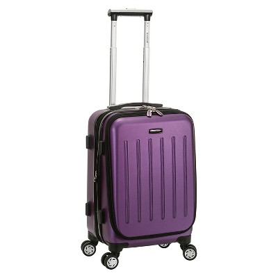 """Rockland Titan 19"""" Polycarbonate/ABS Spinner Carry On Suitcase"""
