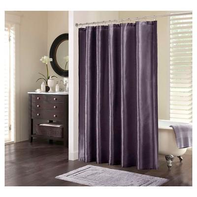 Salem Polyester Shower Curtain - Plum