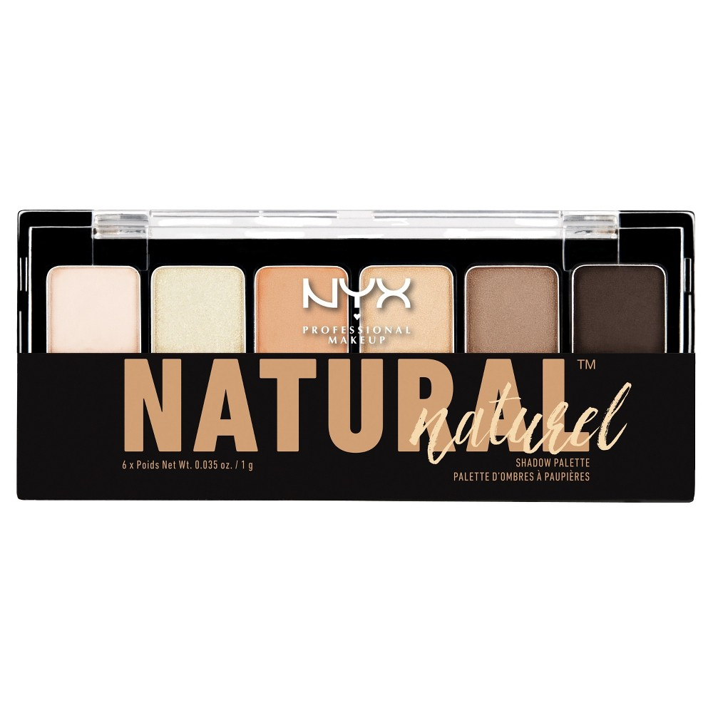 Nyx Professional Makeup The Natural Shadow Palette - 0.21oz