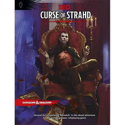 Curse of Strahd - (Dungeons & Dragons)(Hardcover)