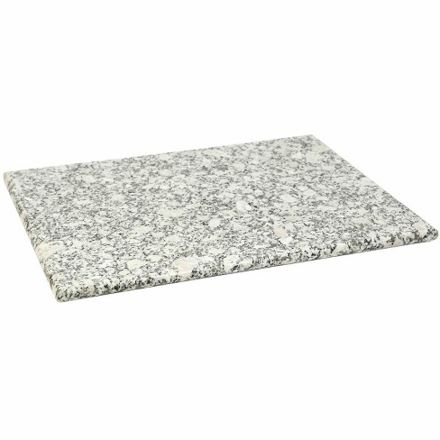 Home Basics 12 X 16 Granite Cutting Board White Target