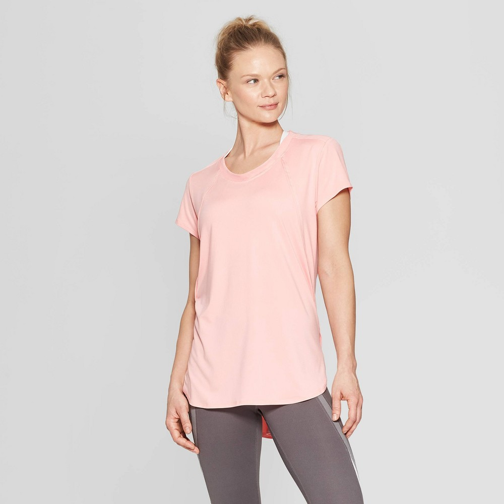 Women's Short Sleeve Power Mesh T-Shirt - C9 Champion Coral (Pink) M