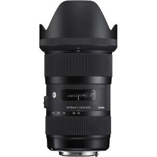 Sigma 18-35mm F/1.8 DC HSM ART Lens for Nikon Digital SLR Cameras