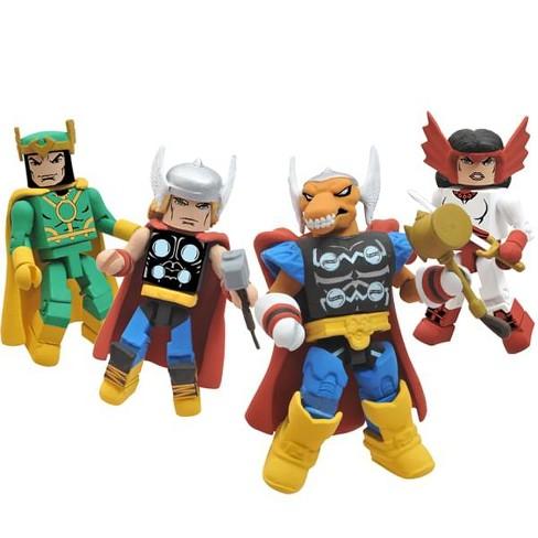 Minimates Marvel Thor Stormbreaker SDCC 2011 Exclusive Action Figure Box Set - image 1 of 2
